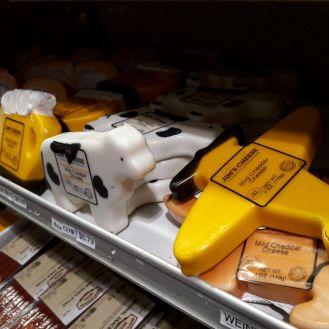 Die bekende kaas van Wisconsin. Foto: Rouxne van der Westhuizen.